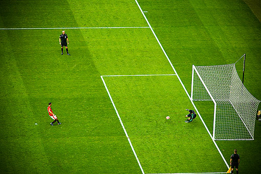 Cech Saves Giggs